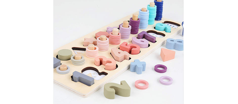 Wooden Stacking Toy - $18.99