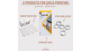 3 Products for Child Proofing Your Home