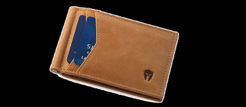 Men's Leather Wallet - $30