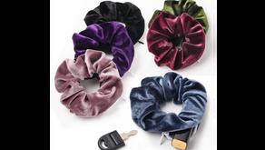 Scrunchies With Hidden Pockets