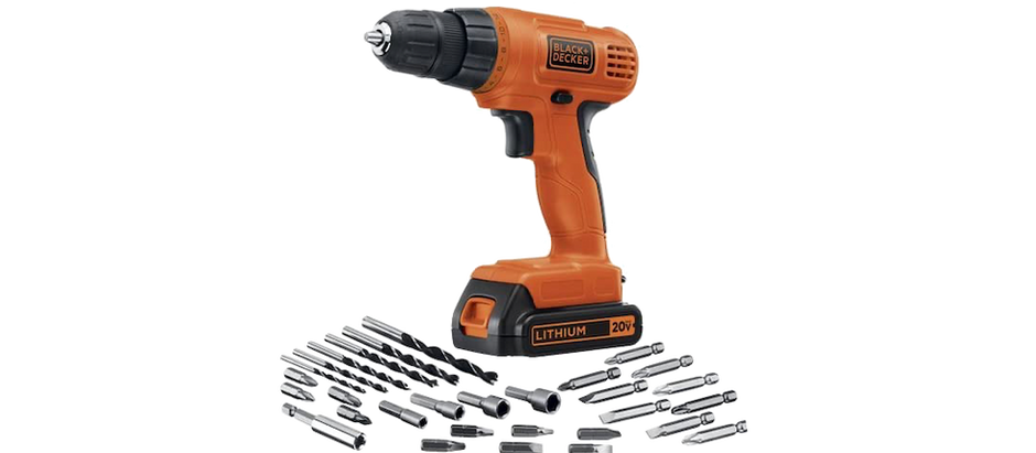 Black + Decker Drill Set - $49.00 (51% off)
