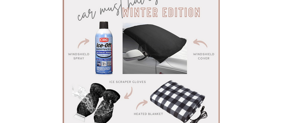 Amazon Car Must Haves - Winter Edition