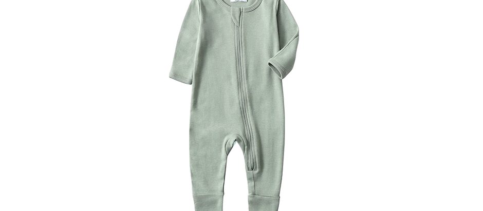 Baby Zipper Pajamas - $18.99