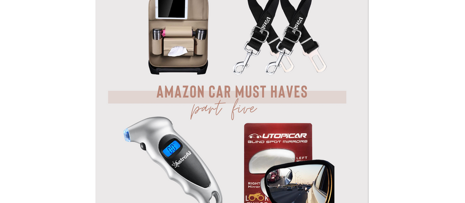 Amazon Car Must Haves - Part Five