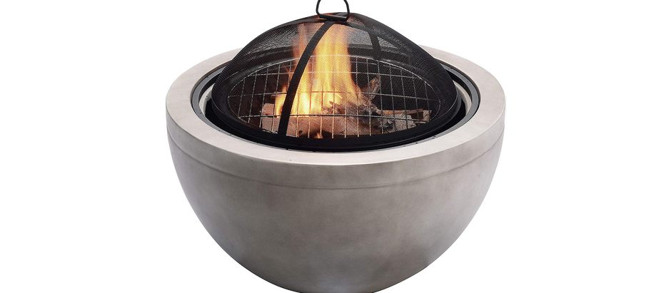 Concrete Wood-Burning Fire Pit - $349 (13% off)