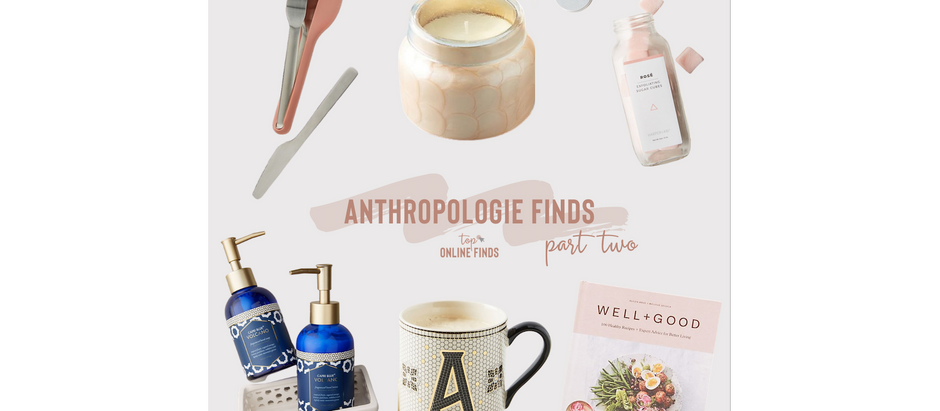 Anthropologie Finds - Part Two