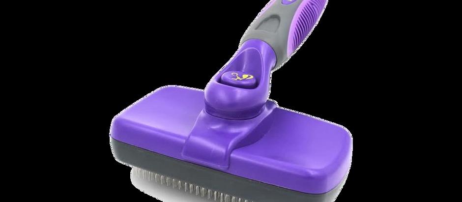 Self-Cleaning Pet Grooming Brush - $15.99