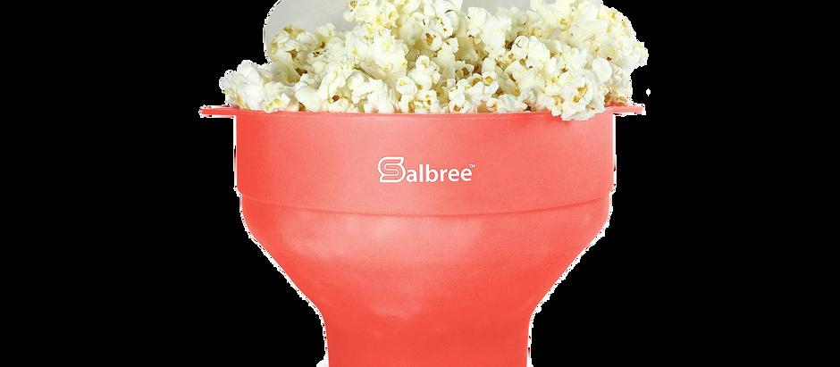 Collapsible Popcorn Maker Bowl