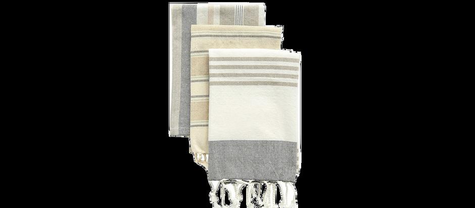 Linen Dish Towels - $13.35 (51% off)