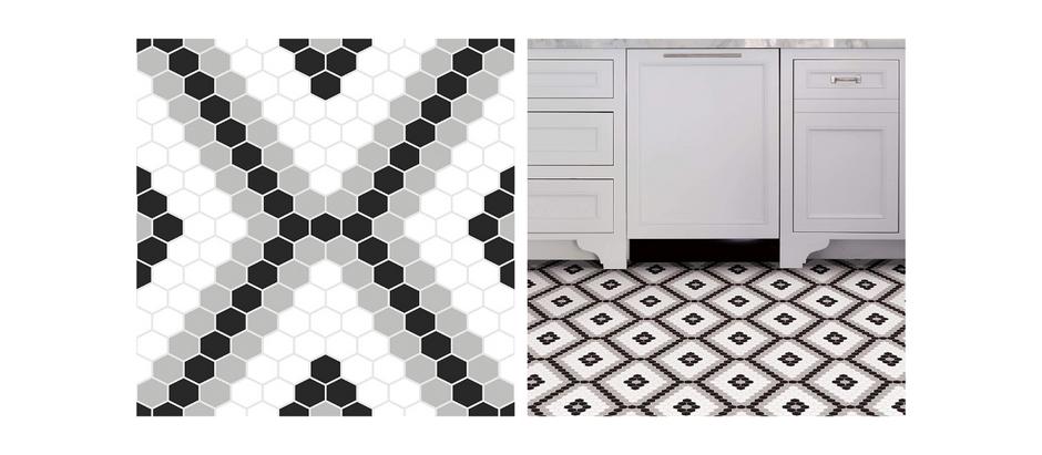 Peel and Stick Floor Tile - $8.46 (53% off)