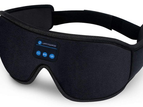 Bluetooth Eye Mask with Headphones