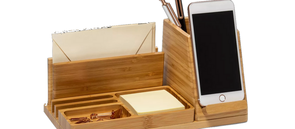 Favorite Desk Organizer (With Wireless Charger)
