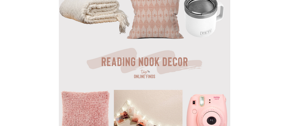 Reading/Hangout Nook Decor
