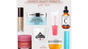 8 Favorite Beauty Products