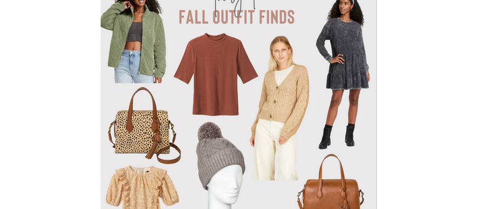 Target Fall Outfit Finds