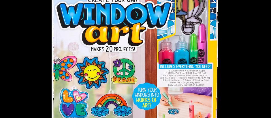 Window Art Craft Kit - $10.97 (42% off)