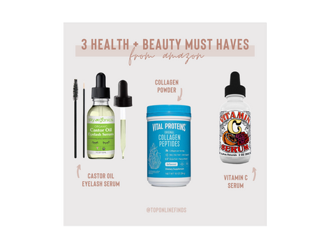 3 Health + Beauty Must Haves