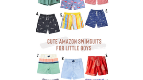 Cute Boys Swimsuits Under $20