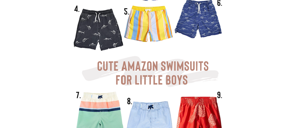 Cute Boys Swimsuits Under $20