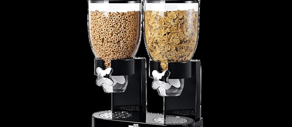 Duel Cereal Dispenser - $24.99 (36% off)