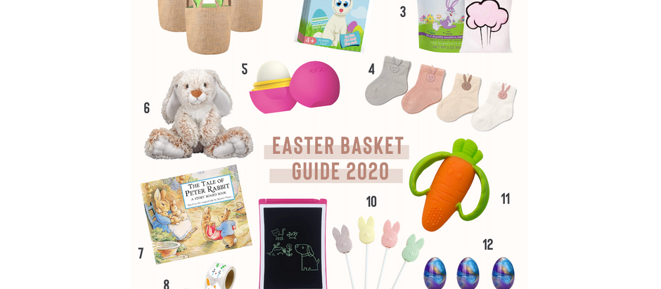 Easter Basket Gift Guide 2020