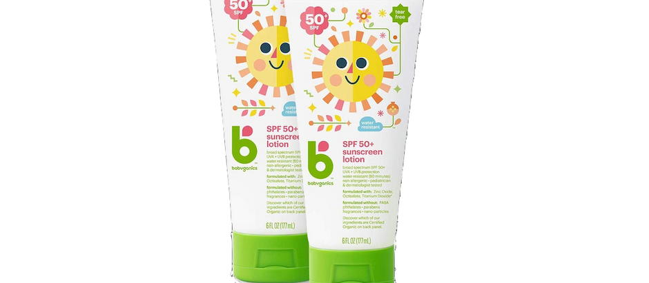 Babyganics Sunscreen - $14.25 (38%)