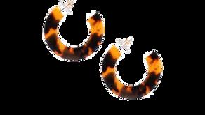 Tortoise Earrings - $8.99 (69% off)