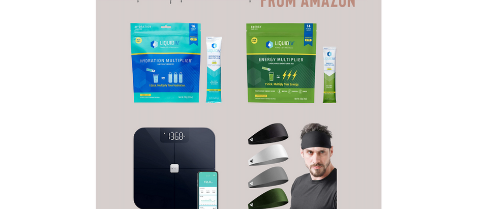 Amazon Health + Fitness Must Haves