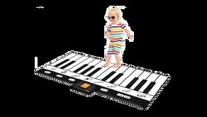 Piano Keyboard Play Mat - $27.06 (66% off)