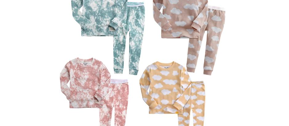 Kid's Tie-Dye & Cloud Pajamas - $15.99