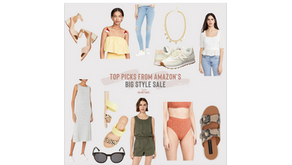 Top Picks from Amazon's Big Style Sale