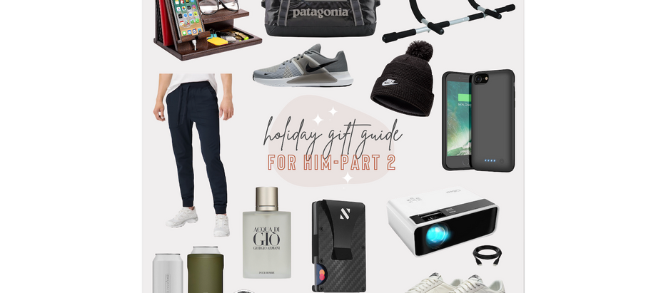 Holiday Gift Guide - For Him Part 2