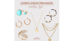 Favorite Jewelry From Amazon - Under $25
