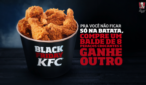 O Black Friday do McDonalds, Burger King, Giraffas e KFC