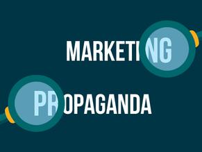 Marketing não é propaganda. Ponto final. - Por Pedro Marcílio