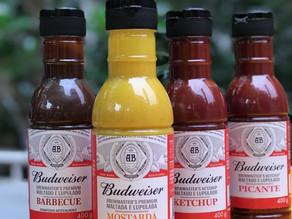 Budweiser lança molhos e temperos com ingredientes de cerveja