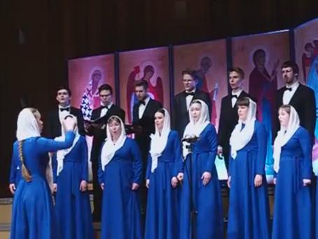 """Выступление молодёжного хора """"Адамант"""" на конкурсе в Белостоке (видео)"""
