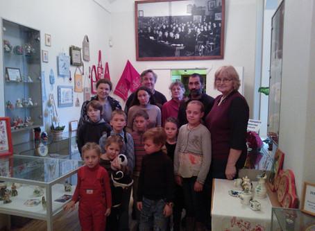 Воскресная школа побывала в Рижском Дворце школьников
