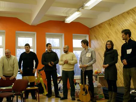 Участники объединения православной молодёжи приняли участие в благотворительной поездке в Латгалию