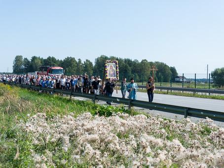 Состоялся 21-й покаянный Крестный ход из Риги в Спасо-Преображенскую пустынь