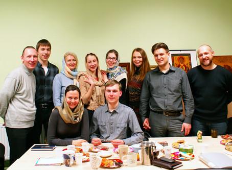 Встреча участников молодёжного объединения с представителями благотворительного фонда «ИРИНИ»