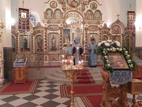 В СИМЕОНО-АННЕНСКОМ СОБОРЕ ГОРОДА ЕЛГАВЫ ОТМЕТИЛИ ПРЕСТОЛЬНЫЙ ПРАЗДНИК