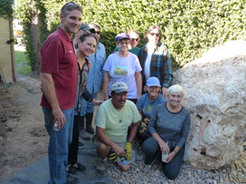 Alan Williams (Habitat Specialist), Laura Martinez Ilgun (Executive Director VCCC), Lorenzo & Virginia Garicia, Mary Renk, Lisa Cofoid, Becky Jones, Robert Hernandez, Ki Brush, Sylvia Casselman.
