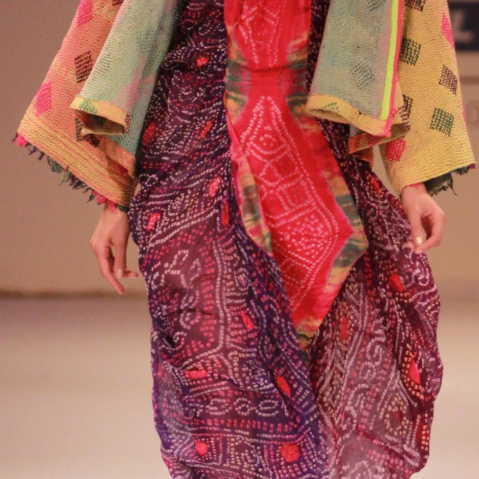 Outfit by Miriam Strehlau, Lakme Fashion Week, Mumbai