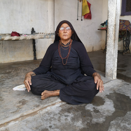 woman of rabari tribe, Kutch