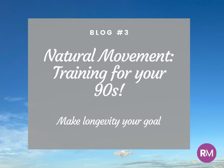 Make longevity your goal: Have you started training for your 90s?