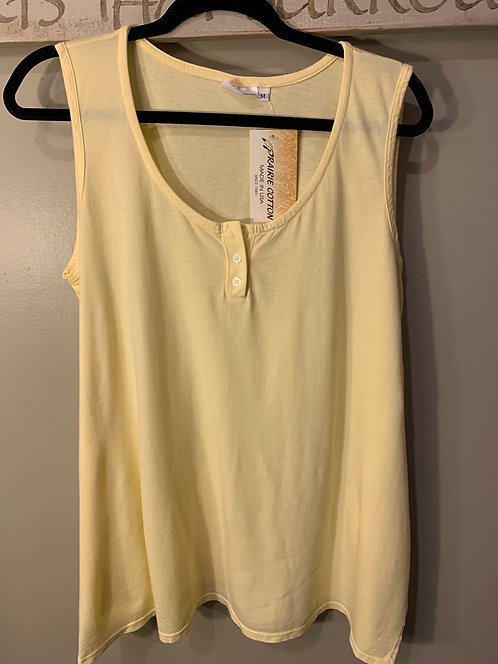 Relaxed Henley Tank