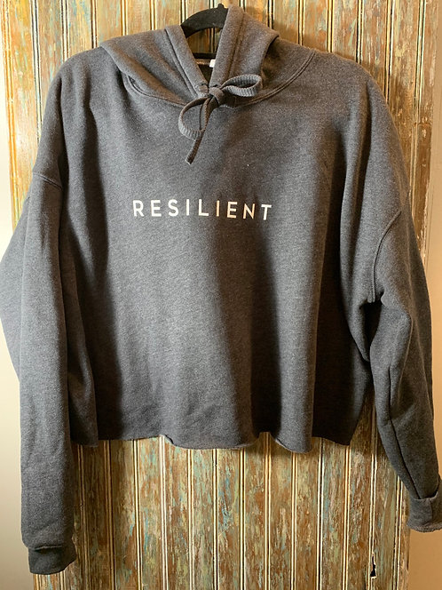 Resilient Cropped Hoodie