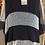 Thumbnail: Crocheted Black & White Mobius Topper