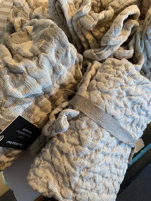 Textured Linen Kitchen Towel